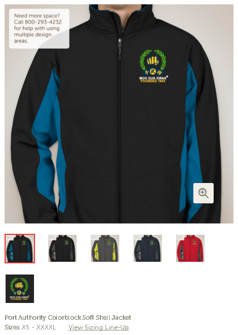 Stay Warm In Custom Moo Duk Kwan® Apparel